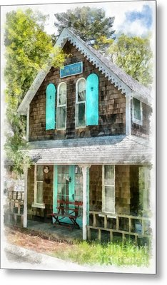 Cape Cod Cottage Cba Metal Print