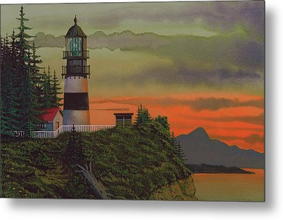 Cape Disappointment Metal Print by James Lyman