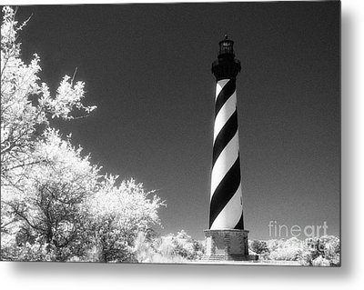 Cape Hatteras Lighthouse Metal Print by Jeff Holbrook