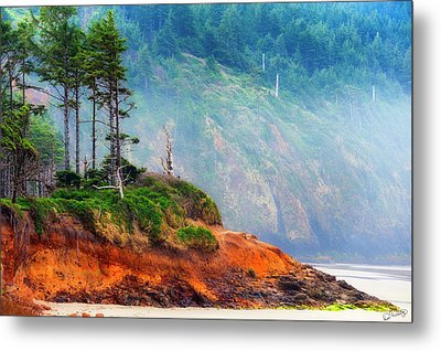Cape Lookout Beach Metal Print