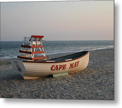 Cape May Calm Metal Print