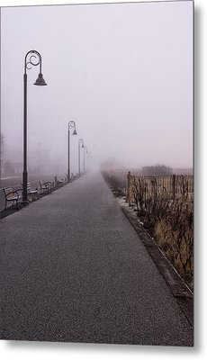 Cape May Fog Metal Print
