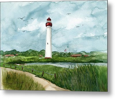 Cape May Lighthouse Metal Print