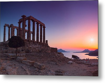 Cape Sounion Metal Print