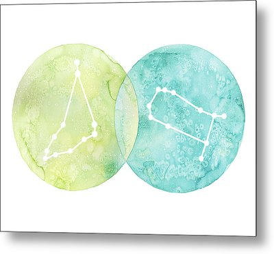 Capricorn And Gemini Metal Print