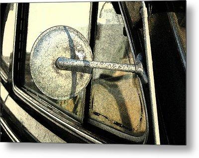 Car Alfresco I Metal Print by Kathy Schumann