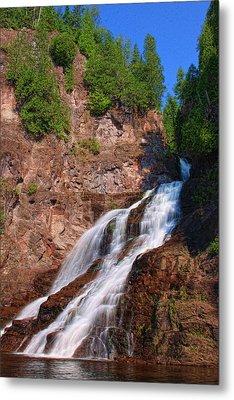 Caribou Falls Metal Print
