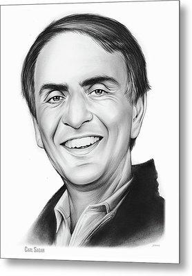 Carl Sagan Metal Print