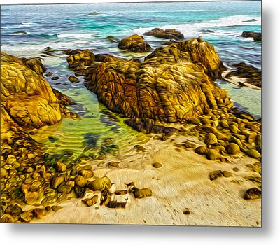 Carmel California - 07 Metal Print by Gregory Dyer