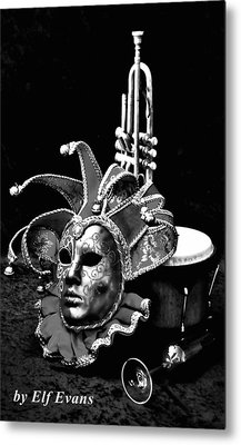 Metal Print featuring the photograph Carnival Time by Elf Evans
