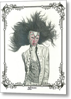 Carnival Metal Print by TP Dunn
