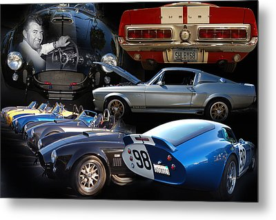 Carroll Shelby Tribute Metal Print by Bill Dutting