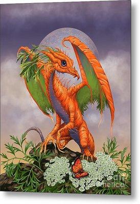 Carrot Dragon Metal Print by Stanley Morrison