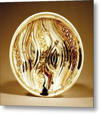 Carved Platter Metal Print by Stephen Hawks