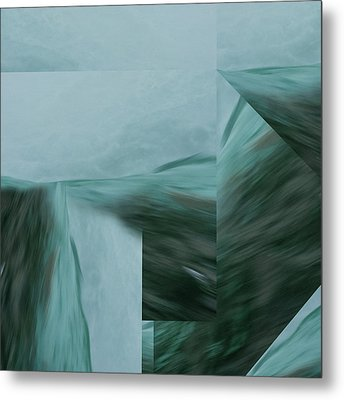 Cascade  Aquascape -  Metal Print