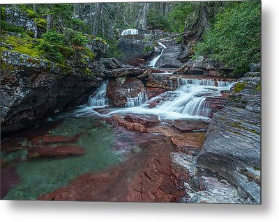 Metal Print featuring the photograph Cascades by Gary Lengyel