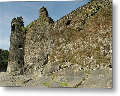 Metal Print featuring the photograph Castle - Ardennes - Belgium by Urft Valley Art
