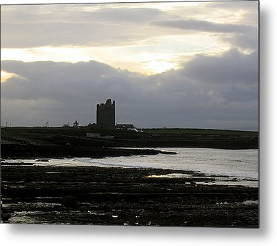 Castle At Easki Metal Print by Amy Williams