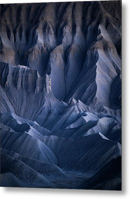 Metal Print featuring the photograph Castle Blue by Dustin LeFevre