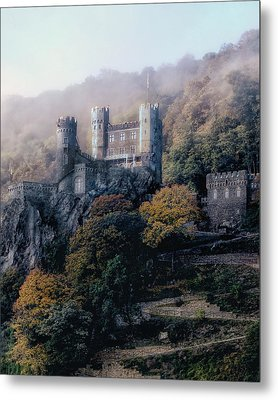 Metal Print featuring the photograph Castle In The Mist by Jim Hill