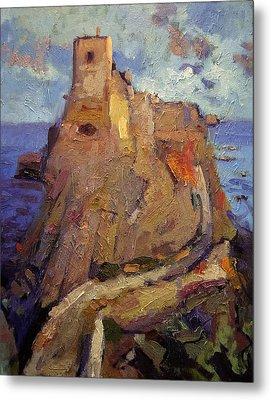 Castle On San Nicola Island Metal Print