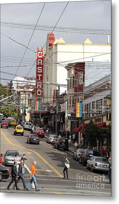 Castro Theater In San Francisco . 7d7572 Metal Print by Wingsdomain Art and Photography