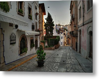 Metal Print featuring the photograph Catalonia - The Town Of Sitges 003 by Lance Vaughn