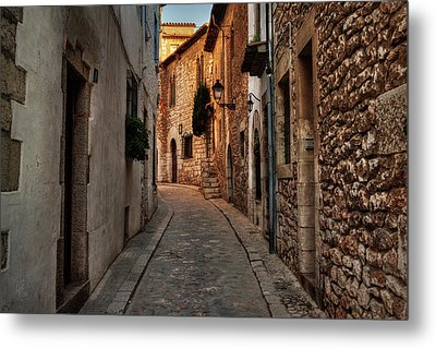 Metal Print featuring the photograph Catalonia - The Town Of Sitges 006 by Lance Vaughn