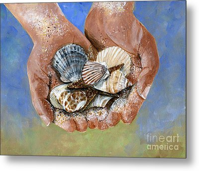 Catch Of The Day Metal Print by Sheryl Heatherly Hawkins