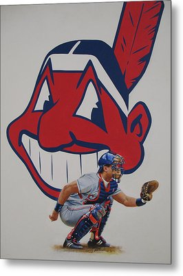 Catcher Metal Print by Cliff Spohn