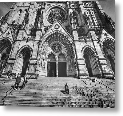 Cathedral Of St. John The Devine New York Metal Print