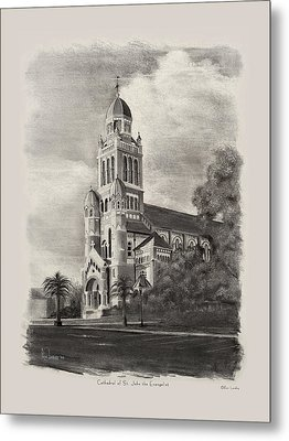 Cathedral Of St John The Evangelist Metal Print by Ron Landry