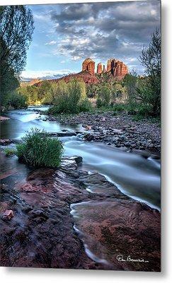 Cathedral Rock And Oak Creek 3381 Metal Print
