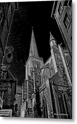 Metal Print featuring the photograph Cathedrale St/. Vincent by Elf Evans