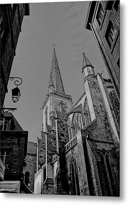 Metal Print featuring the photograph Cathedrale St. Vincent  by Elf Evans