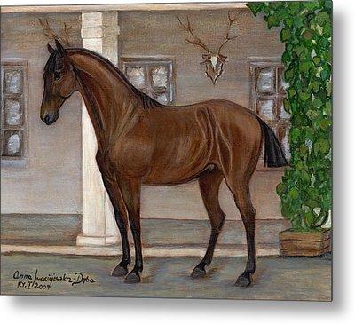 Cavalry Horse Metal Print
