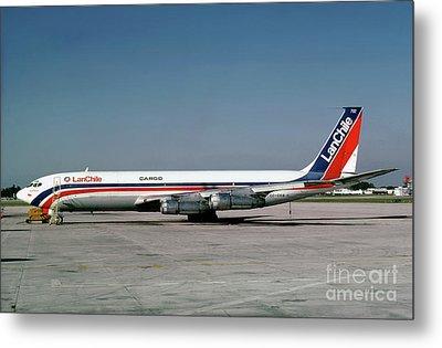 Cc-ceb, Boeing 707-385c, Lan Chile Cargo, Jt3d-3b S2, Jt3d Metal Print