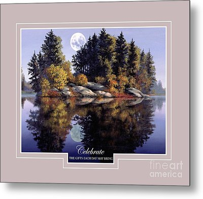Metal Print featuring the painting Celebrate by Michael Swanson