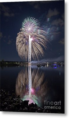 Celebrating The 4th Metal Print