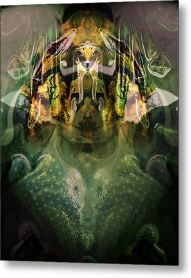 Metal Print featuring the digital art Celerian by Lynda Lehmann