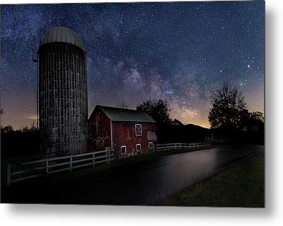 Metal Print featuring the photograph Celestial Farm by Bill Wakeley