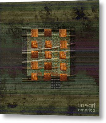Centering Metal Print by Ann Powell