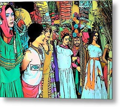 Central America Nicaragua Metal Print by Lisa Dunn