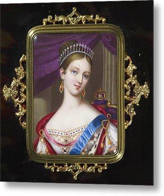 century Queen Victoria Metal Print