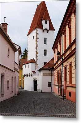 Ceske Budejovice Tower Metal Print