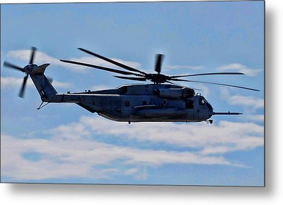 Ch-53d Sea Stallion - 2 Metal Print by Tommy Anderson