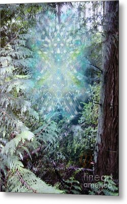 Chalice-tree Spirit In The Forest V3 Metal Print by Christopher Pringer