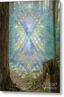 Chalice-tree Spirt In The Forest V2 Metal Print by Christopher Pringer
