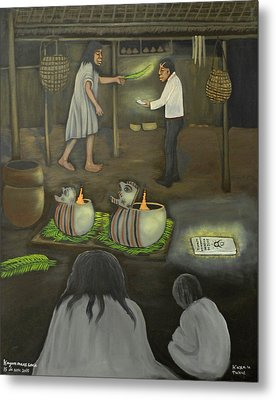 Changing Religions Metal Print