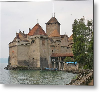 Chateau De Chillon Switzerland Metal Print